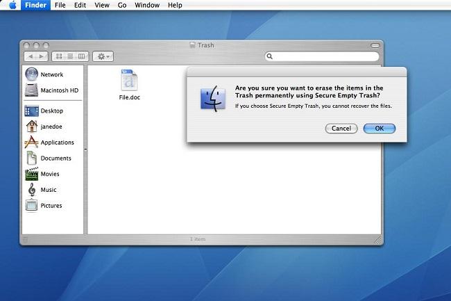 如何在Mac上撤消空垃圾以保存您的数据