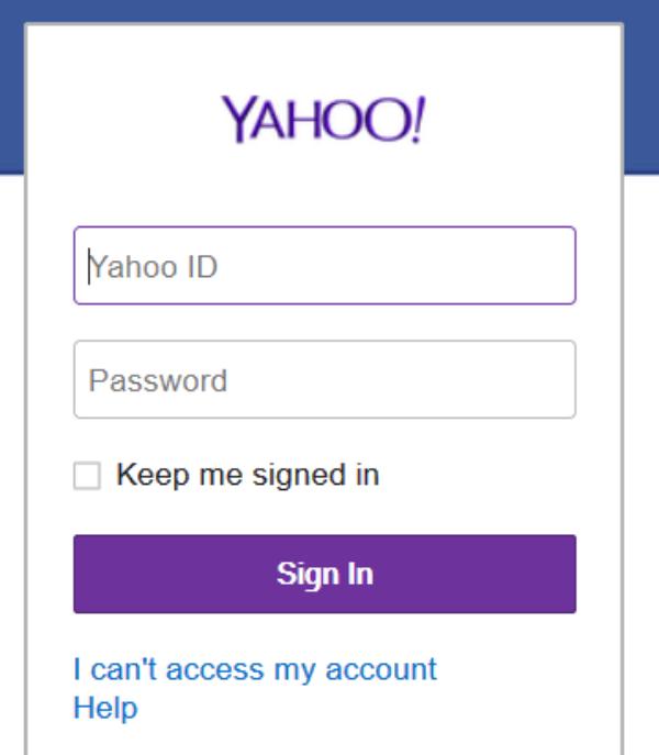 如何恢复雅虎电子邮件