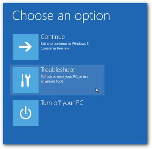 在Windows 10步骤2中进入安全模式