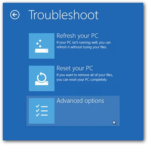 在Windows 10步骤3中进入安全模式