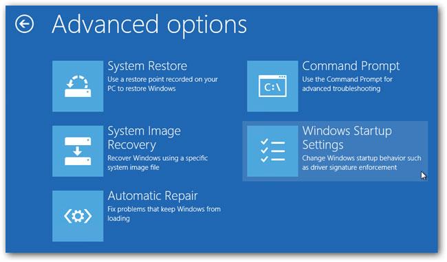 在Windows 10步骤4中进入安全模式