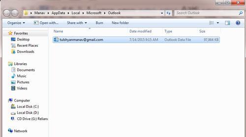 如何删除ost file-locate ost文件