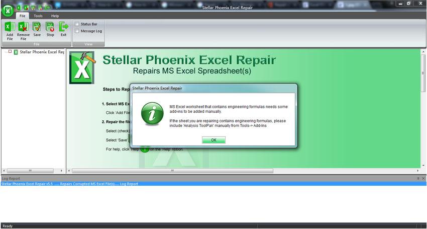 修复excel文件第1步