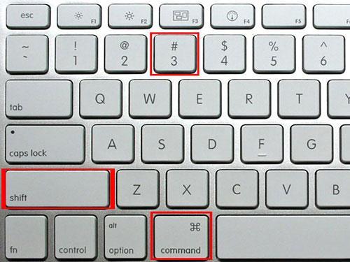 如何在Mac整个屏幕上捕获屏幕截图