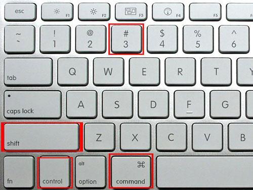 如何在Mac上捕获所选区域的屏幕截图