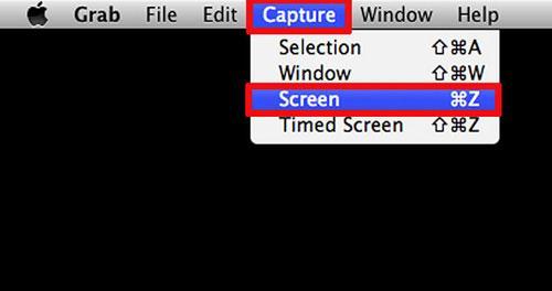 如何在Mac OS X上截取屏幕截图使用Grab Utility