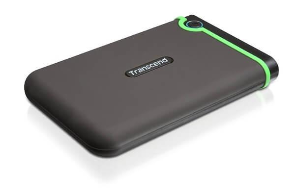 最大的外置硬盘:Transcend