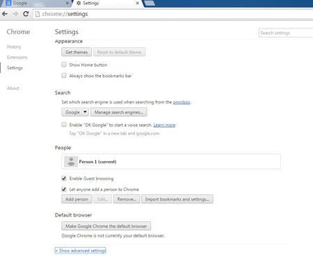 如何删除Google Chrome浏览历史记录
