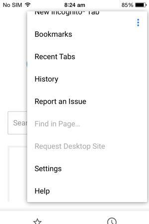 从手机中删除Google Chrome