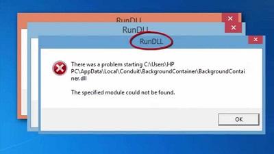 运行DLL错误