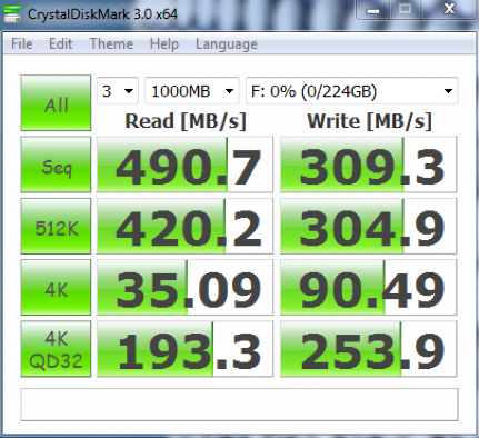 CrystalDiskMark用于测试Windows硬盘速度-1