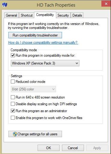Windows-HD Tack-2的硬盘速度测试