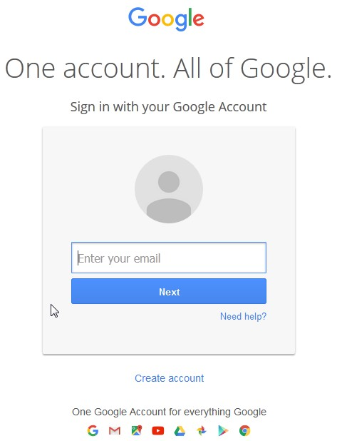 恢复Gmail用户名