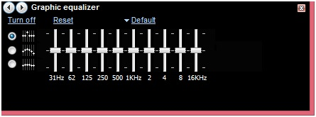 检查均衡器设置以解决Windows媒体播放器中没有声音的问题