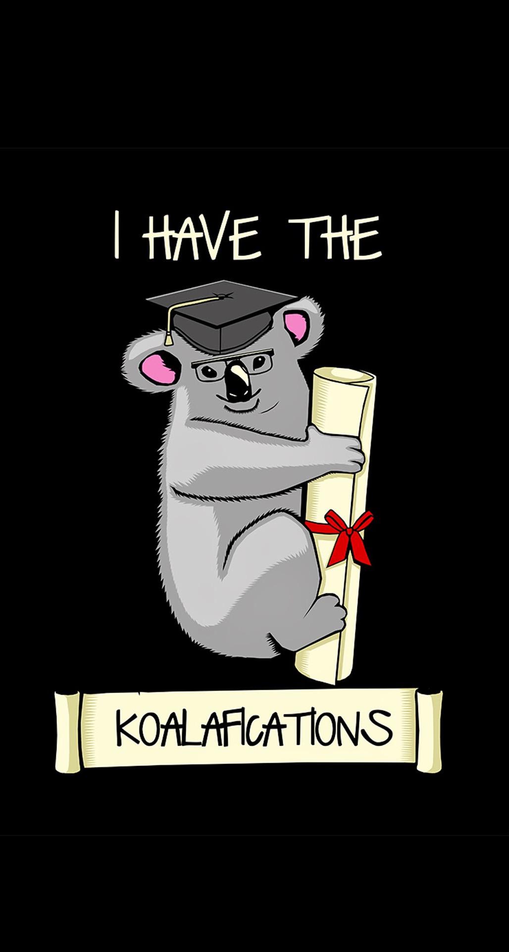20个有趣的iphone壁纸 - 我有koalafications
