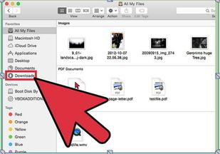 如何在Mac上删除下载的文件