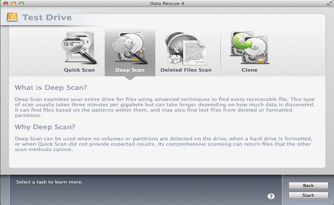 适用于Mac-Data Rescue的免费数据恢复软件4