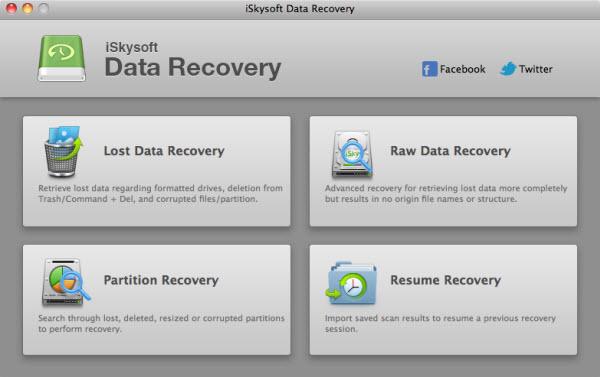 适用于Mac-iSkysoft数据恢复的免费数据恢复软件