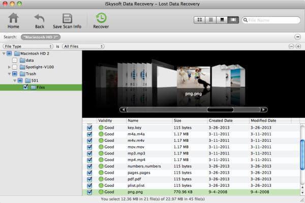 Mac数据恢复软件适用于Mac OS X El capitan -iskysoft Mac数据恢复