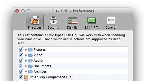 用于Mac OS X El capitan-Disk Drill的Mac数据恢复软件