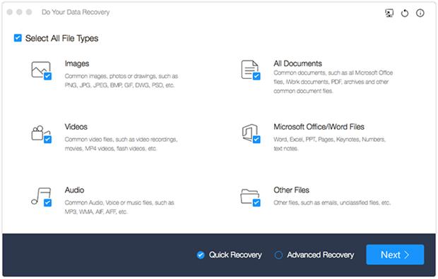 适用于Mac OS X的Mac数据恢复软件El capitan-Do适用于Mac的数据恢复免费