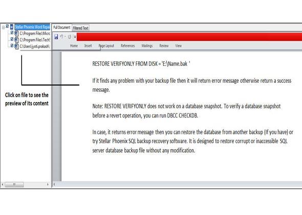 修复MS word文件步骤3