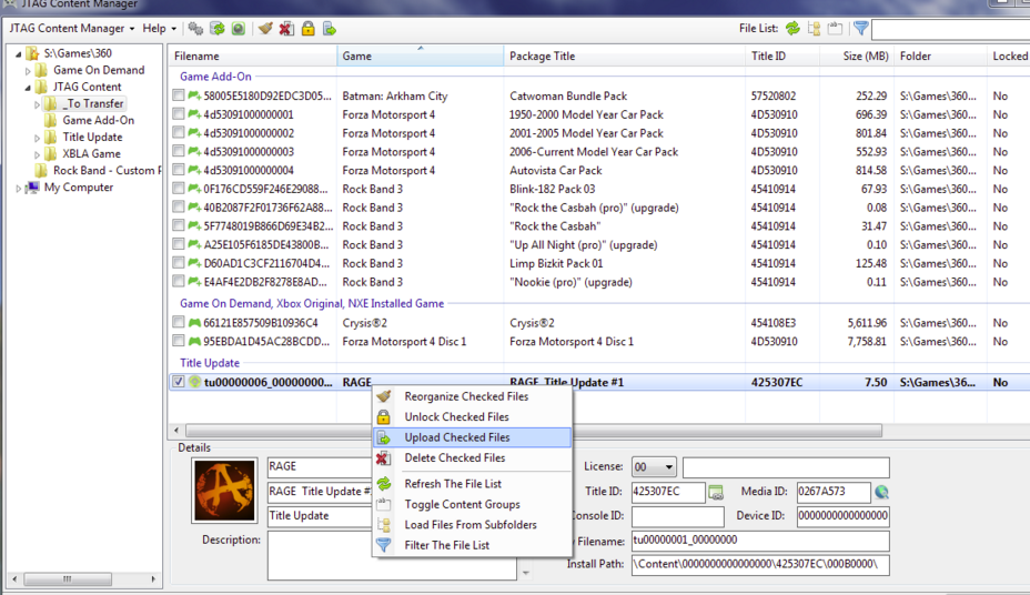 xbox 360硬盘 -  Xbox 360内容管理器