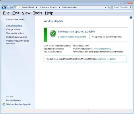 更新Windows以修复蓝屏bccode 9f-step 4