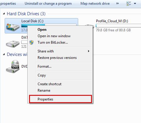 运行硬盘检查以修复蓝屏bccode 9f-step 4