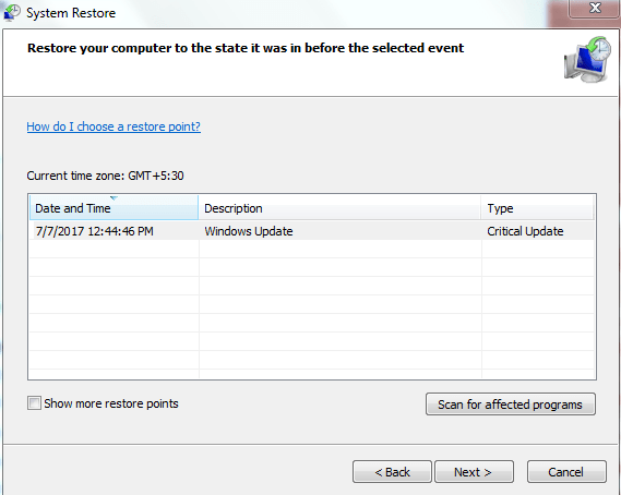 恢复系统以修复蓝屏停止0x0000003b-3