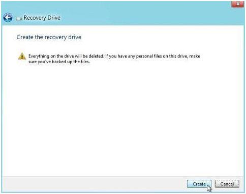 如何使用USB恢复驱动器还原Windows系统