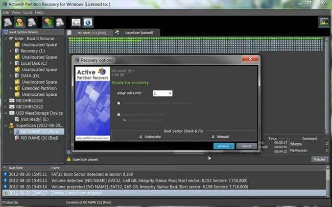 免费硬盘分区恢复软件