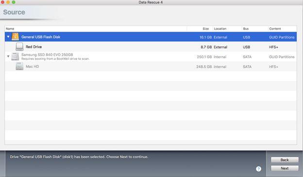 使用数据救援恢复丢失的数据4硬盘恢复步骤1