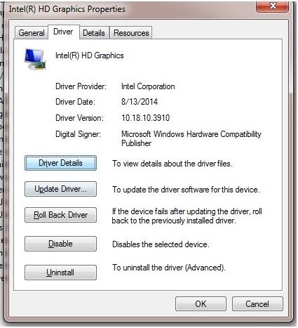 更新驱动程序以修复蓝屏0x00000109