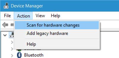 如何修复计算机无法连接到WiFi步骤2