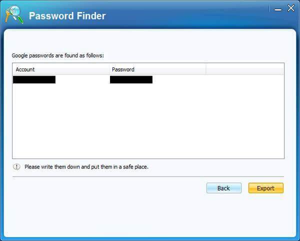 找到Gmail的密码