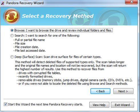 潘多拉恢复软件