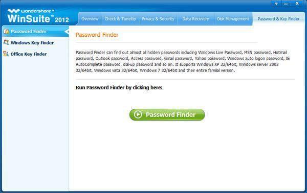 gmail密码查找器