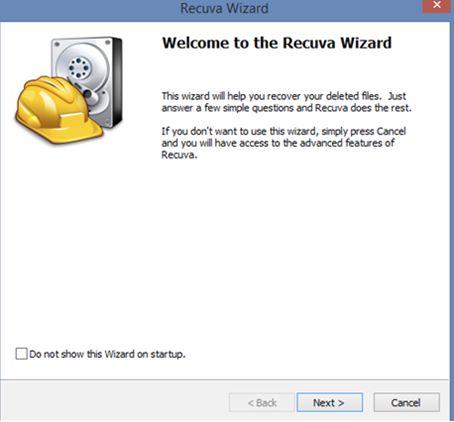 Recuva硬盘恢复软件