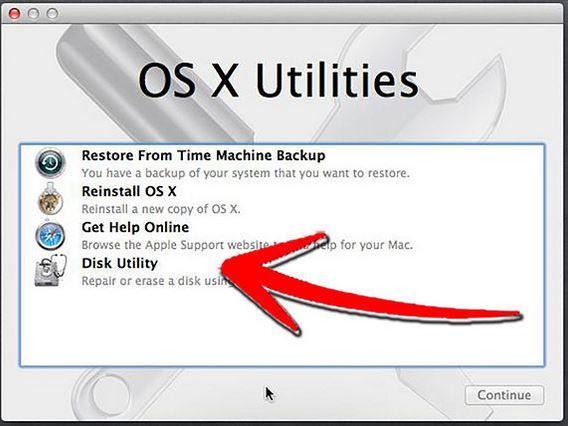 使用磁盘实用程序修复硬盘步骤2