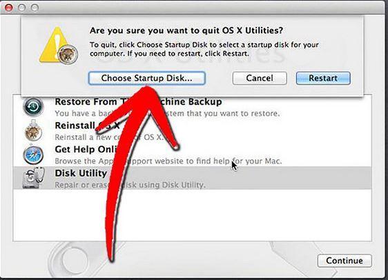 使用磁盘实用程序修复硬盘步骤4