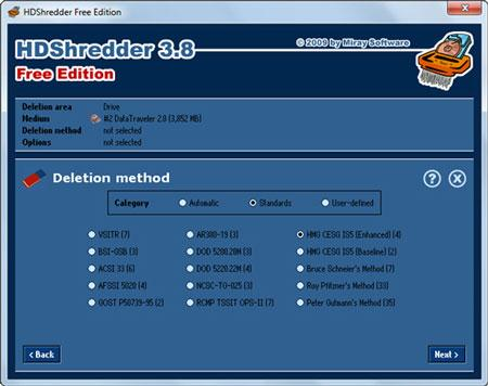 安全删除:HDShredder免费版