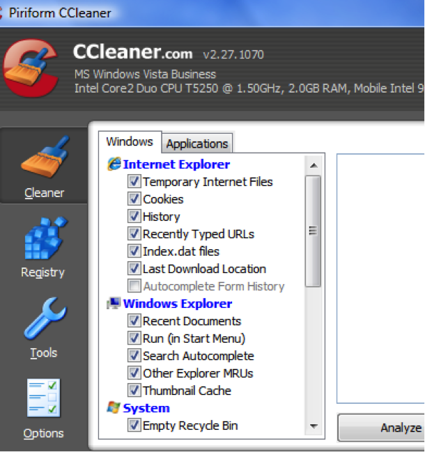 如何用Ccleaner擦除硬盘