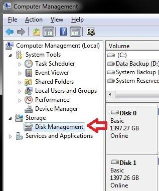 Windows步骤4中的启动分区