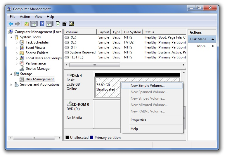Windows步骤5中的启动分区