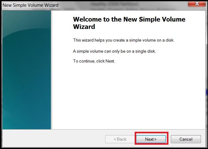 Windows步骤6中的启动分区
