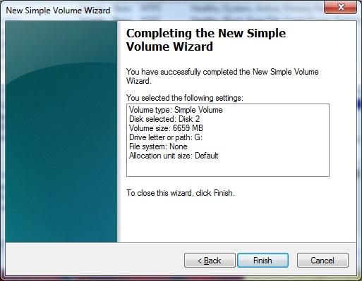 Windows步骤8中的启动分区