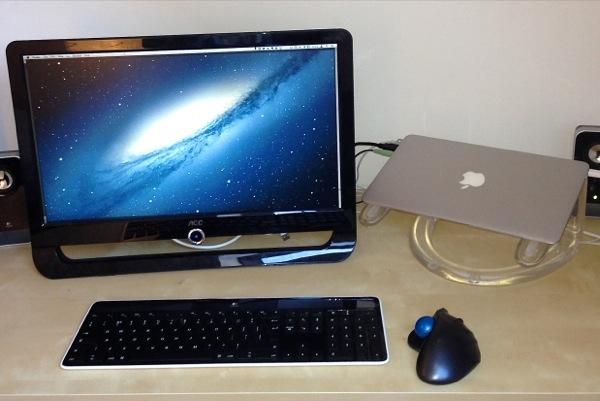 将外接显示器连接到电脑