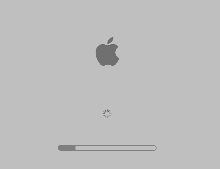 在mac-method 3上启动时修复灰屏