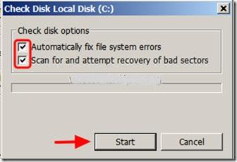 修复chkdsk第4步的硬盘驱动器问题